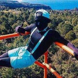 Morphesuit full body zip up suit costume